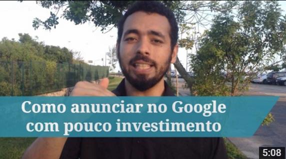 Como anunciar no Google Adwords com pouco investimento
